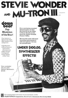 Stevie Wonder and Mu-Tron III