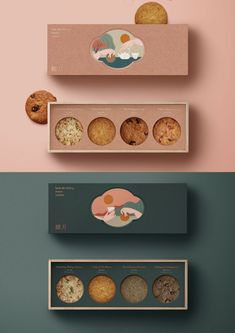 Ashley Knaeble | Abstract Expressionistic Painter | Gorgeous Packaging. So lovely #packaging #design Baking Packaging, Cake Packaging, Food Packaging Design, Luxury Packaging, Brand Packaging, Product Packaging Design, Food Box Packaging, Mockup Design, Packaging Inspiration