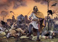 """Cavalry officer, c. 306 AD"", Angus McBride"