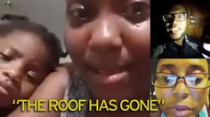 Weeping heartbroken families film themselves in flooded homes without roofs after Hurricane Maria 'obliterates' Dominica - Mirror Online http://www.mirror.co.uk/news/world-news/hurricane-maria-dominica-homes-flooded-11200859