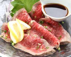 ぐるなび - わらっとこ :和牛のたたきおろしポン酢で♪