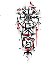Viking Tattoo Sleeve, Viking Tattoo Symbol, Norse Tattoo, Viking Tattoos, Yggdrasil Tattoo, Nordic Symbols, Viking Symbols, Viking Runes, Tattoo Design Drawings