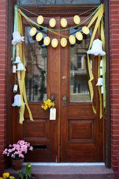 Door decoration idea