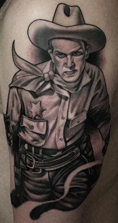 Tattoo by James Spencer Briggs, via Flickr