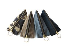 Waxed Canvas Pouch - $15.00 - Made in USA