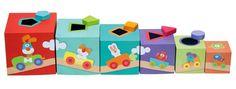 Kolorowa wieża z sorterem, Farma 82947-Sevi, zabawki edukacyjne | ZieloneZabawki.pl