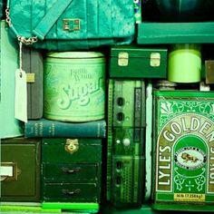 Uma coleção para quem ama verde. Porque tudo fica melhor se é verde! #verde #tudoverde #design #bemvisuais #decoração