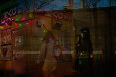 Japanese Taxi Driver Takes Multiple Exposures While Looking for Passengers - My Modern Metropolis