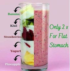 Fruit Smoothie Recipes, Easy Smoothies, Juice Smoothie, Smoothie Drinks, Weight Loss Smoothies, Healthy Juice Recipes, Healthy Juices, Healthy Drinks, Flat Belly Smoothie