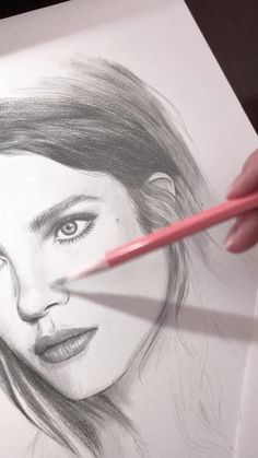 Today's work in progress. Drawing of a portrait of Natalia Vodianova - realistic drawings Realistic Pencil Drawings, Pencil Art Drawings, Art Drawings Sketches, Drawing Drawing, Portrait Sketches, Pencil Portrait, Portrait Art, Portraits, Natalia Vodianova