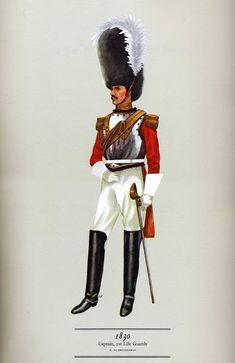 1° Rgt. Life Guards Capitano 1830