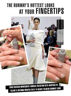 Recap of Mani Monday with Andrea Fulerton using Andrea Fulerton Nail Boutique nail art