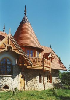 Flagstone, Hungary, Cabin, House Styles, Home Decor, Decoration Home, Room Decor, Cottage, Interior Decorating