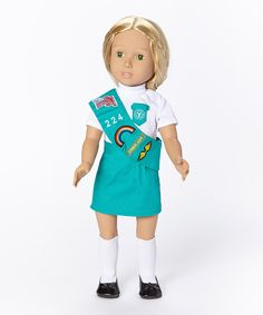 Look at this Girl Scout Doll Outfit on #zulily today!