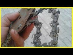 Старая цеп из бензопилы..... - YouTube