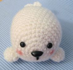 Sale - Amigurumi Pattern Crochet Baby Seal Digital Download by AmyGaines http://sulia.com/channel/knitting/f/147f31d958d49172fb0f777b84817b09/?source=pin&action=share&ux=mono&btn=small&form_factor=desktop&sharer_id=127220923&is_sharer_author=false&pinner=127220923