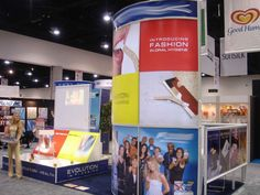 10' x 20' or 20' x 20' Booth
