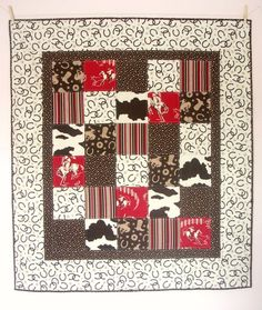 Cowboy Baby Quilt