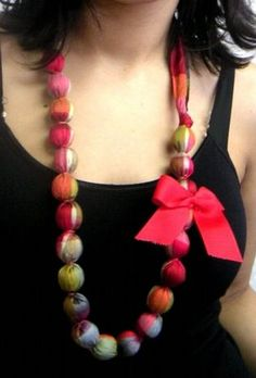 collar de tela (ideal regalo) - Taringa!