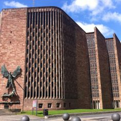 Basil Spence's Coventry Cathedral 1962