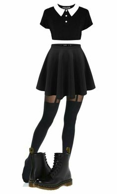 60 Ideas Party Outfit Casual Leggings Hair For 2019 Gothic Outfits, Edgy Outfits, Mode Outfits, Grunge Outfits, Pastel Goth Outfits, Grunge Party Outfit, Cute Punk Outfits, Black Dress Outfit Party, Teen Fashion Outfits