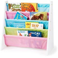 Tot Tutors WO594 Pastel Color Kid's Book Storage Rack - Walmart: $28