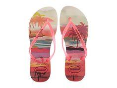Havaianas Slim Paisage Flip Flops Beige - Zappos.com Free Shipping BOTH Ways