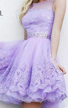 Beautiful purple dress!