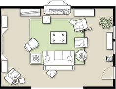 How To Arrange Furniture In A Family Room Living LayoutLiving LayoutsRooms