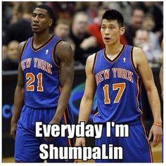 Everyday I'm ShumpaLin