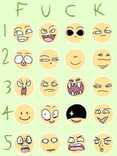 Resplendent Cartoon Drawing Tips Ideas Drawing Cartoon Faces, Cartoon Art, Drawing Reference Poses, Drawing Tips, Facial Expressions Drawing, Lucario Pokemon, Expression Sheet, Art Prompts, Art Poses
