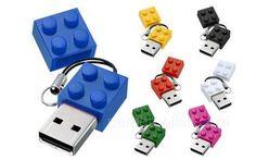 LEGO USB pieces