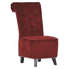 """Ihr Stuhl aus der Kollektion """"New Barock"""" von AMBIA HOME vermittelt eine tolle Ästhetik in Ihrem Wohnkonzept. Die antiken Holzfüße harmonieren perfekt mit dem Bezug aus strapazierfähigen Spezialfasern in Rot. Der Polyurethanschaumkern verleiht dem Polstermöbel einen hervorragenden Sitzkomfort. Runden Sie Ihr Wohn- oder Speisezimmer mit weiteren Möbeln im angesagten Vintage-Look ab!"""