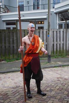 Aang (Avatar) cosplay