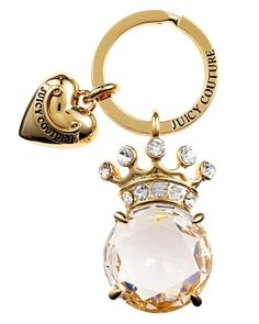 Stone Crown Key Fob
