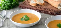 Red Lentil and Cauliflower Soup