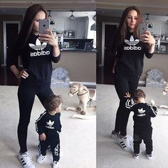 eff702a368 pinterest @amacias3875 ✨❣ Matching Family Outfits, Mom Daughter Matching  Outfits, Mom