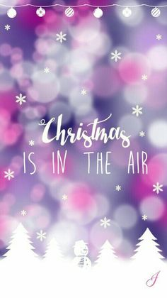 christmas, cute, pink, wallpaper, weihnachten