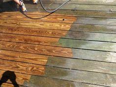 Power-washing Saved My Deck's Life - East Coast Creative Blog