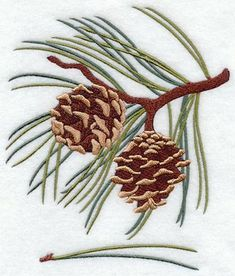 Evergreen Trees Embroidery | Machine Embroidery Designs at Embroidery Library! - New This Week
