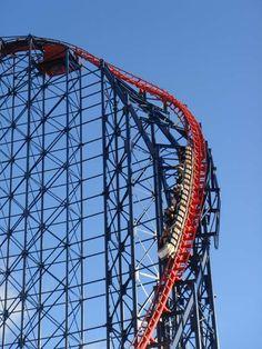 Pepsi Max, Big One is a steel roller coaster in the United Kingdom at Blackpool Pleasure Beach.