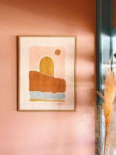 Sun & Shield by Tess Guinery / / Tess Guinery peachdecor Painting Inspiration, Art Inspo, Art Et Illustration, Corporate Design, Eclectic Decor, Art Design, New Wall, Diy Art, Home Art