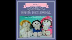 PAP  Boneco Bebê bolinha - Parte 2 - cabelo e mãos (feltro ou pano) Diy, Teddy Bear, Christmas Ornaments, Holiday Decor, Animals, How To Make Crafts, Creative Crafts, Boy Doll, Feltro