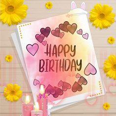 Beautiful Birthday Wishes, Birthday Wishes Funny, Birthday Songs, It's Your Birthday, Boy Birthday, Birthday Cards, Birthday Sparklers, Birthday Fireworks, Happy Birthday Hearts