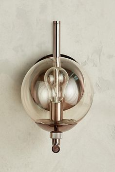 Anthropologie Perryman Sconce