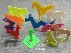 Simple Animals 13 - Chinese zodiac by Eunny - Thingiverse Useful 3d Prints, Chinese Zodiac, Cool Diy, Footprint, 3d Printer, Festivals, 3 D, Printing, Diy Crafts