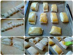 Tvarohové mini záviny (fotorecept) - recept | Varecha.sk Bread, Recipes, Food, Savory Snacks, Hampers, Kuchen, Brot, Recipies, Essen