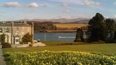 Anglesey - Plas Newydd with the Menai Strait in the background, Anglesey