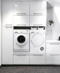 [New] The 10 Best Home Decor (with Pictures) - loving this simplistic laundry room. Modern Laundry Rooms, Laundry Room Layouts, Laundry Room Organization, Decor Interior Design, Interior Design Living Room, Laundry Room Inspiration, Laundry Room Design, Modern Farmhouse Kitchens, Küchen Design