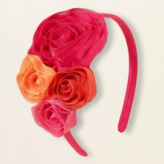 girl - outfits - flowing florals - bouquet headband | Children's Clothing | Kids Clothes | The Children's Place
